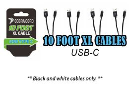 12 Bulk 10 Foot Xlarge Phone Cables Usb Cable
