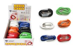 36 Bulk Auxiliary Audio Cable