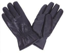 48 Bulk Men's Leather Glove