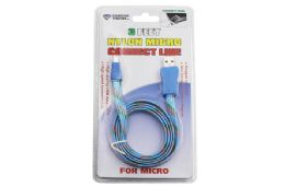 36 Bulk Nylon Micro Usb Cable Carded