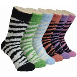 180 Bulk Women's Fluffy Cozy Socks
