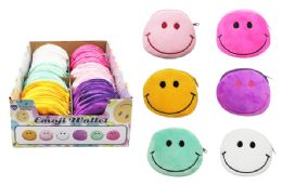 72 Bulk Smiley Emoji Coin Purse