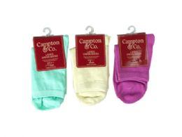 108 Bulk Womens Dress Socks 9-11 Assorted Colors