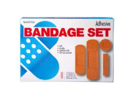 45 Bulk 100 Pack Bandage Assortment