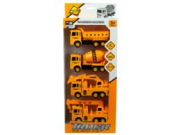 12 Bulk 4 Pack Construction Trucks