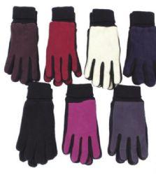 72 Bulk Women's Fleece Glove