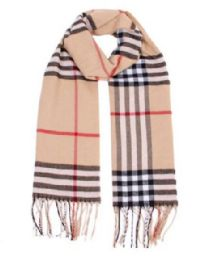 72 Bulk Unisex Plaid Printed Winter Scarf