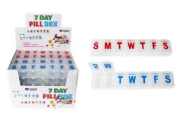 48 Bulk Jumbo 7 Day Pill Box