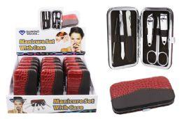 30 Bulk Manicure Set With Case 6 Piece