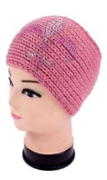 120 Bulk Knitted Rhinestone Winter Head Band