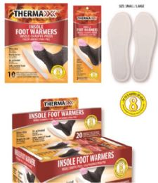 20 Bulk Air Activated Foot Warmers [size L/xl]