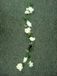 36 Bulk 4' Large Open Rose Garland