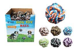 36 Bulk Pet Rope Ball