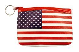 48 Bulk Usa Flag Coin Purse