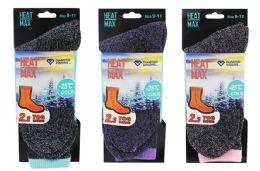 48 Bulk Ladies Thermal Book Sock