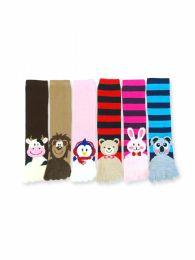 120 Bulk Women's Animal Fuzzy Toe Socks Size 9-11
