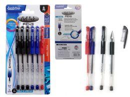 144 Bulk 6 Piece Gel Ink Pens