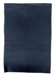 36 Bulk Yacht & Smith Solid Black Color Warm Winter Fleece Scarves