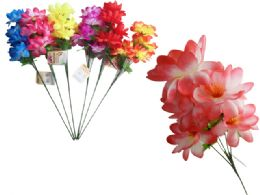 144 Bulk 5 Head Flower Bouquet