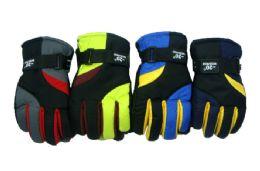 24 Bulk Kids Ski Gloves