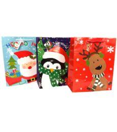 144 Bulk Christmas Large Gift Bag
