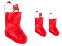 24 Bulk Christmas Stocking Heavy Duty