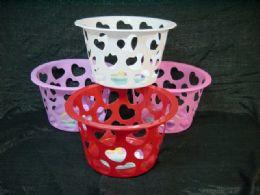 36 Bulk Heart Shape Basket