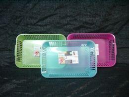 36 Bulk Plastic 2 Piece Multi Purpose Basket