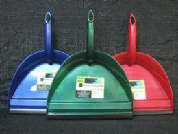 36 Bulk Plastic Handheld Dustpan With Rubber