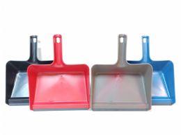 24 Bulk Plastic Jumbo Size Dustpan