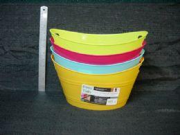 36 Bulk Plastic Storage Basket Oval