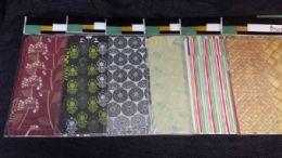 72 Bulk 8 Piece Plastic Placemat And Coaster Set Modern Design