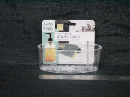 48 Bulk Plastic Sink Caddy With Suction