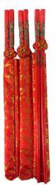 108 Bulk Dragon Design Chopstick With Bag