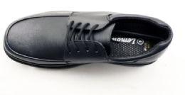 12 Bulk Mens Basic Dress Shoes In Black