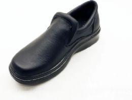 12 Bulk Moccasin Style Slip On Formal Shoes For Men