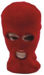 72 Bulk 3 Hole Ski Mask