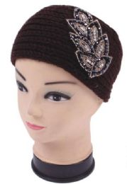 120 Bulk Warm Winter Rhinestone Head Band