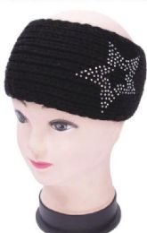 120 Bulk Warm Winter Star Rhinestone Head Band