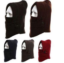 36 Bulk Unisex Fleece Windproof Ski Face Mask