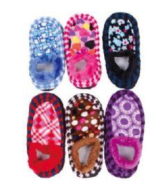 180 Bulk Women's Fuzzy Sock Slipper