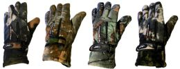 24 Bulk Man Size Heavy And Thermal -30 Camo Glove