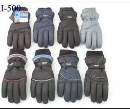 12 Bulk Mens Winter Ski Gloves With Thinsulate
