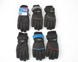 12 Bulk Youth Ski Gloves With Thinsulate