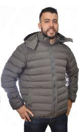 12 Bulk Men's Nylon Synthetic Down Jacket
