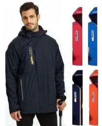 36 Bulk Men's Waterproof Rain Ski Jacket With Fleece Lining & Hood