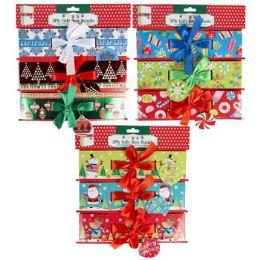 36 Bulk Gift Box Christmas Paper Belly Band