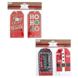24 Bulk Gift Tags Jumbo 6 Pack