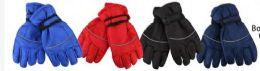 72 Bulk Boys Water Proof Ski Glove