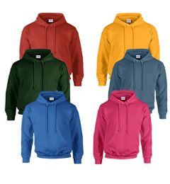 24 Bulk Gildan Unisex Mill Graded Irregular 2nd Hooded Pullover Sweat Shirts